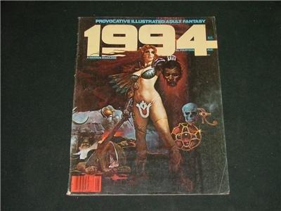 1994 Illustrated Adult Fantasy Magazine Comic Aug. 1980