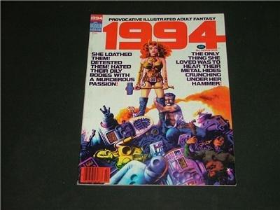 1994 Illustrated Adult Fantasy Magazine Comic Feb. 1981