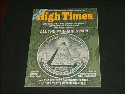 2 High Times Magazines July 76 Special Centennial Issue
