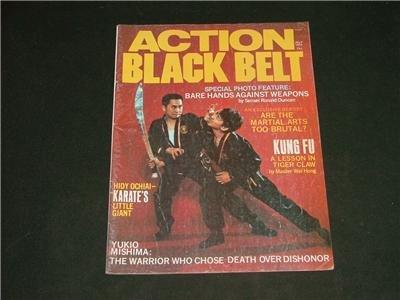 Action Black Belt Magazine July '74 Hidy Ochiai