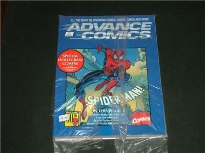 Advance Comics Marvel Book, Game Cards, OrderBook 1992