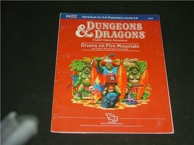 Advanced Dungeons & Dragons '84 X8 Expert 9127 TSR