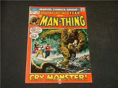 Adventure Into FEAR #10 4th App Man-Thing Chaykin Art