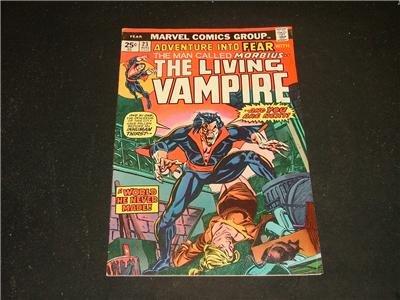 Adventure Into FEAR #23 8/74 Morbius Steve Gerber,