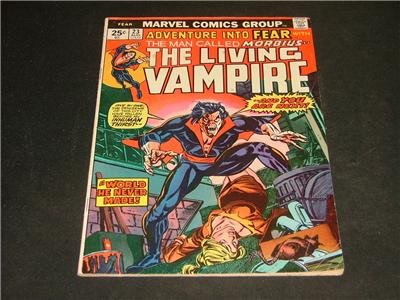 Adventure Into FEAR #23 Morbius Aug '74 Steve Gerber