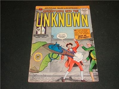 Adventures Into The Unknown #131 Mar '62