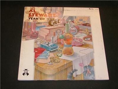 AL STEWART YEAR OF THE CAT 1976 JANUS Record ROCK LP