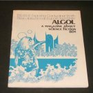 ALGOL Magazine Smith, Aldiss,Lupoff, White #20 1973