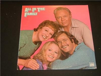 ALL IN THE FAMILY ALBUM ATLANTIC RECORDS 1971 RARE!