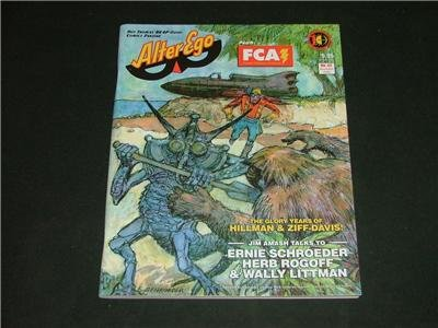 Alter Ego Magazine, Roy Thomas' Comics Fanzine Nov. '04