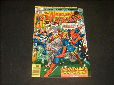 Amazing Spider-Man #174 Nov '77 Punisher Appearance