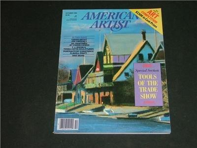 American Artist Magazine Art & Photography Oct 1984