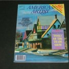 American Artist Magazine Art & Photography Oct 1984