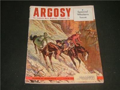 Argosy February 1953 Special Western Issue