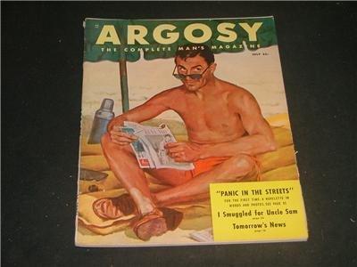 Argosy July 1950 complete man's magazine