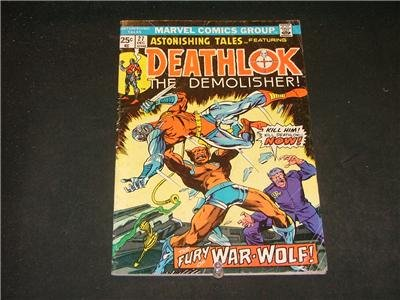 Astonishing Tales #27-31 Deathlok/Guardians of the Gala