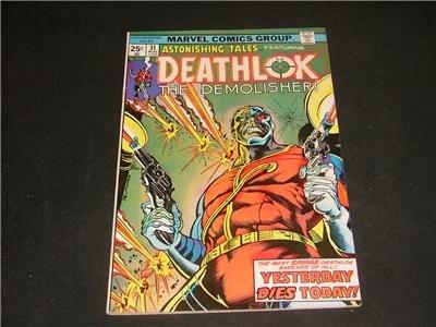 Astonishing Tales #31 Feb '75 Deathlok The Demolisher