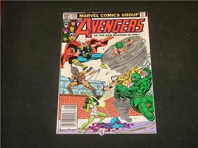 Avengers #222-228 7 Issues!