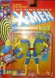 Banshee w Trading Card the Uncanny X-men