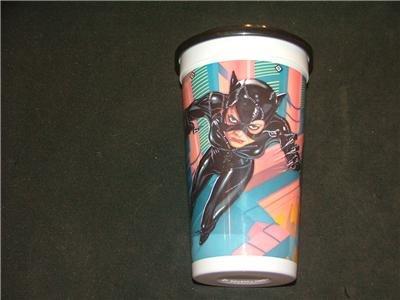 Batman Returns CATWOMAN Plastic McDonalds Cup 1992