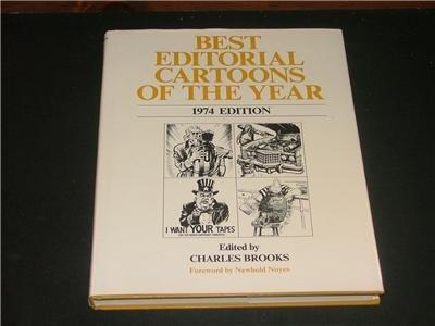 Best Editorial Cartoons of the Year 1974 - HC Brooks
