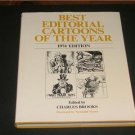 Best Editorial Cartoons of the Year 1974 - HC Brooks