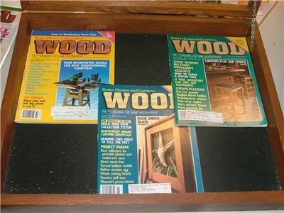Better Homes & Gardens WOOD Mag 3 Issues '90-'91