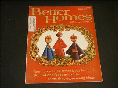 Better Homes and Gardens CHRISTMAS ISSUE Dec. 1963