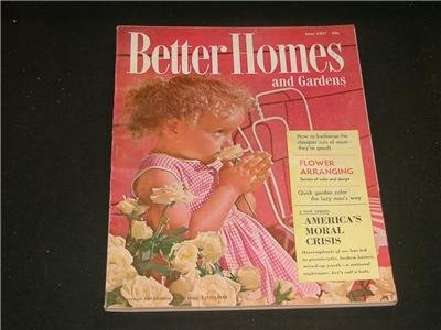 Better Homes and Gardens FLOWER ARRANGING June 1957