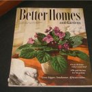 Better Homes and Gardens GARDENING RECIPES & Jan. 1952