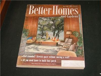 Better Homes and Gardens GARDENING RECIPES April 1954