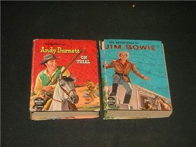 Big Little Book Tv Series, 2, Jim Bowie & Andy Burnett