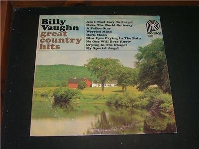 Billy Vaughn - Great Country Hits - 1978 vinyl LP