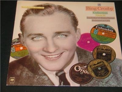 BING CROSBY Record Album DEMO! NEVER RELEASED SIDES '77