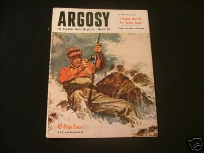 ARGOSY March 1954 10 pg Bonus For Fishermen