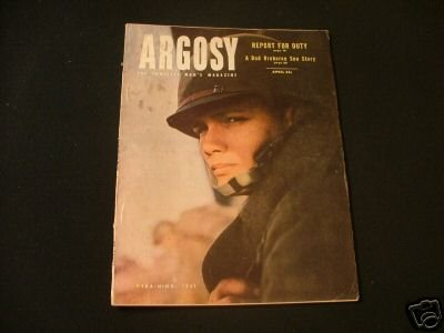 ARGOSY April '51 Stewart Sterling,John Richard Lewis