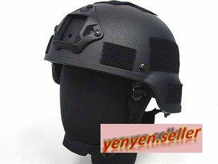 USMC MICH Kevlar ACH USGI Protective Helmet BK