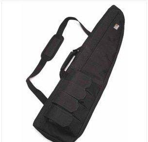 """40"""" Tactical AEG Rifle Sniper Case Gun Bag Mag Pouch BK"""