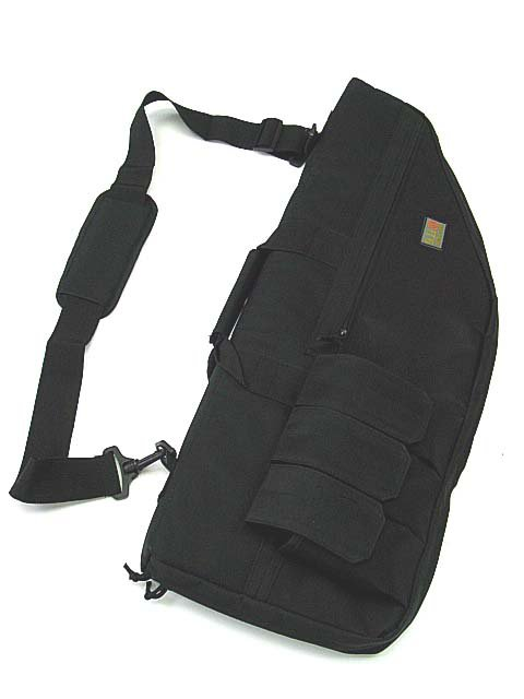 "29"" Tactical AEG Rifle Sniper Case Gun Bag Mag Pouch BK"