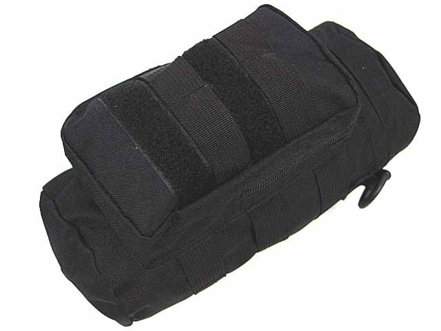 SWAT Airsoft Molle Water Bottle Utility Medic Pouch BK