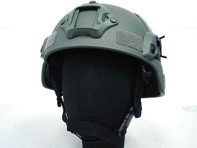 MICH TC-2000 ACH Helmet w/NVG Mount & Side Rail ACU