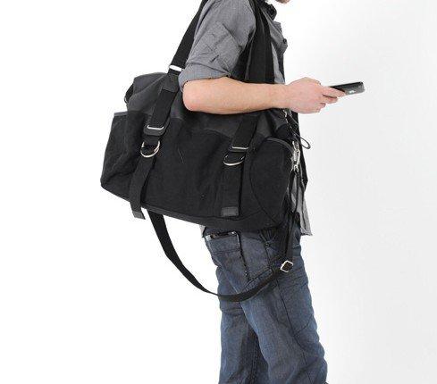 New fashion Canvas man man's shoulder hand bag 1980