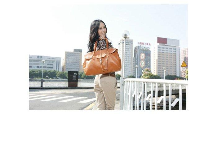 100% Leather Women's Tote Shoulder Bags Handbag Fashion