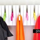 New Creative Rainbow Piano Folding Over Door COAT HOOK