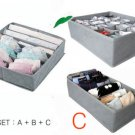 Clothes Helper Non Woven storage closet organizer Suit