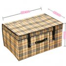 NON WOVEN FOLDABLE STORAGE BOX ORGANIZER BAG (60*40*30)