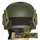 Airsoft IBH Helmet with NVG Mount & Side Rail