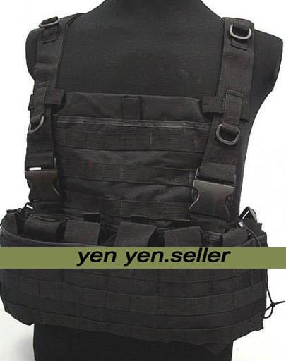 SWAT Airsoft Molle Hydration Combat Carrier Vest