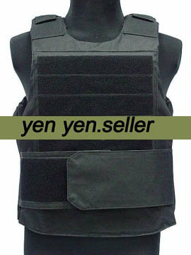 Body Armor Plate Carrier Vest Coyote