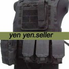 USMC Airsoft Molle Combat Assault Plate Carrier Vest